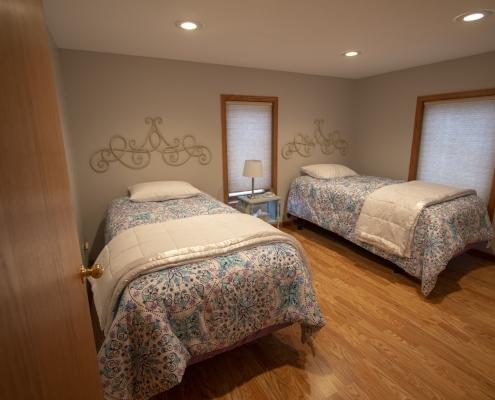 Upstairs Bedroom 1, 2 beds