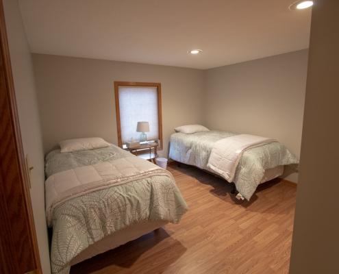 Upstairs Bedroom 2, 2 beds