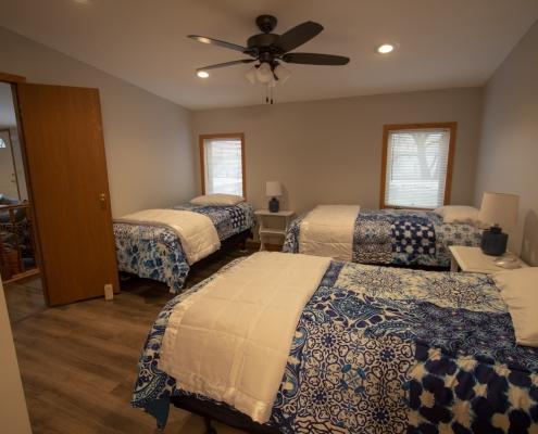 Upstairs Bedroom 3, 3 beds